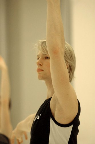 Marijn Rademaker in class