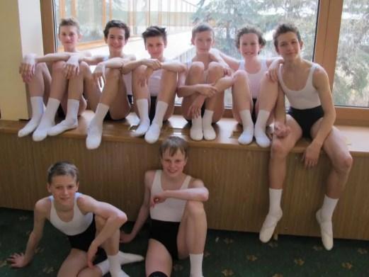 Nicholas and the Bolshoi boys - after exams