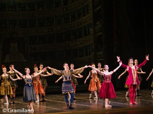 Opera with Emanuela Montanari, Mick Zeni, Beatrice Carbone and Roberto Bolle