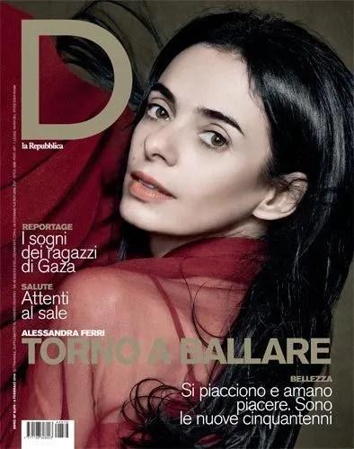 Alessandra Ferri Repubblica cover