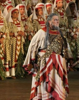 Ambrogio Maestri in Aida (1913 production) Verona Arena