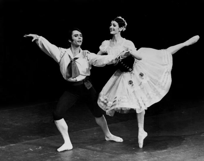 Ivan Nagy and Carla Fracci