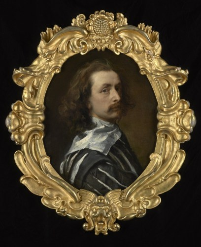 Self-portrait by Sir Anthony Van Dyck, 1640-1 - Copyright: Philip Mould & Co