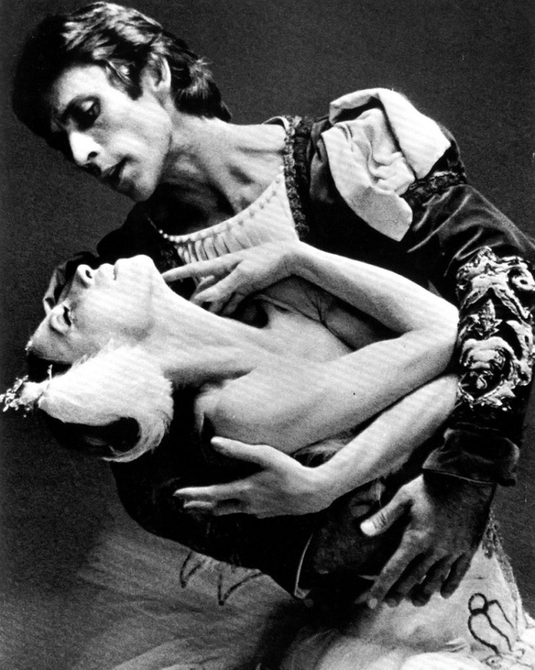 Natalia Makarova and Ivan Nagy by Max Waldman
