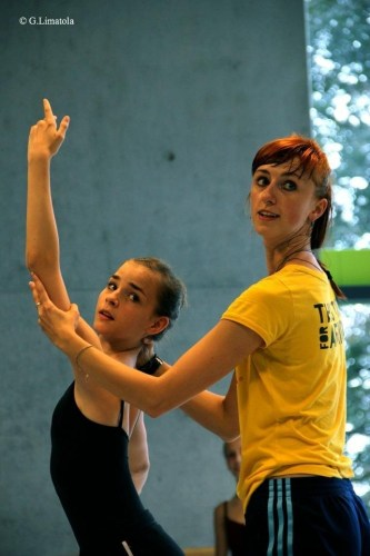 Elena Vostrotina teaching
