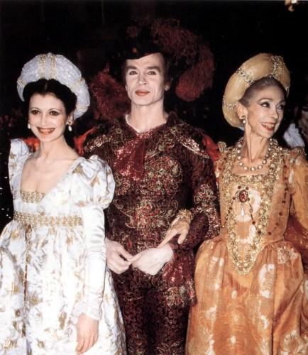 1988 - Carla Fracci, Rudy e Margot