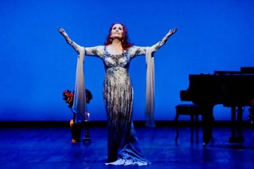Janis Kelly as Regine Saint Laurent in Prima Donna