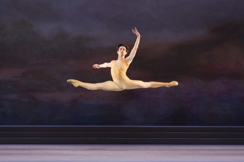 Valentino Zucchetti in Frederick Ashton's Rhapsody - photo by Johan Persson, 2014