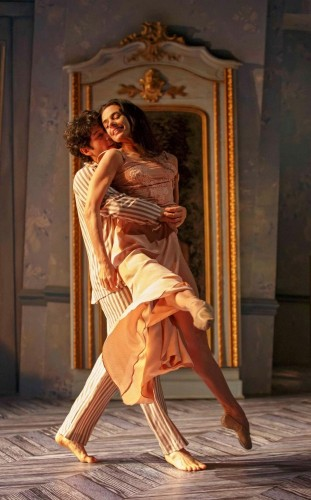 Alessandra Ferri and Herman Cornejo in Cheri - photo Joan Marcus