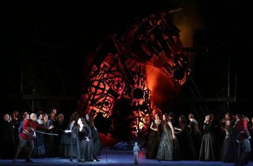 Anna Caterina Antonacci in Les Troyens - photo Brescia/Amisano – Teatro alla Scala