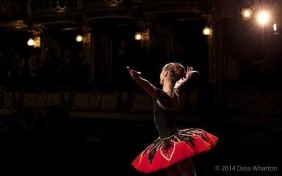 Daria Klimentová, Don Quixote, Prague 2014 - photo Dasa Wharton