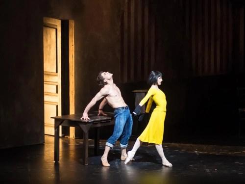 Ivan Vassiliev and Nicoletta Manni in Le jeune homme et la mort, La Scala, 2014