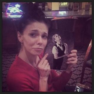 Natalia Osipova missing David Hallberg - photo @LondonBallerina aka Lauren Cuthbertson