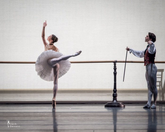 Polina Semionova and Javier Amo in John Neumeier's The Nutcracker, Munich, 2014
