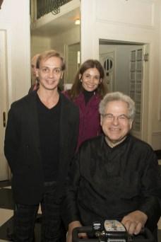 Luis Ortigoza, Véronica Fuentes and Itzhak Perlman