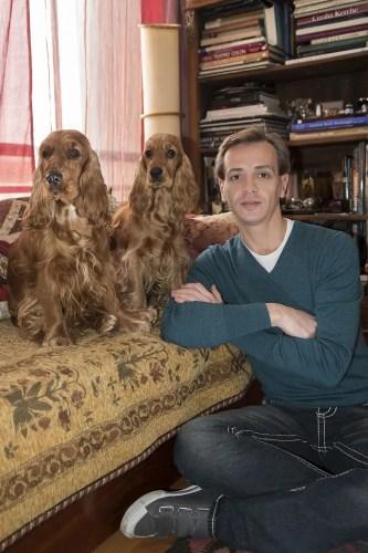 Luis Ortigoza with Eva and Audrey