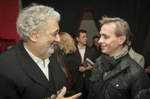 Plácido Domingo and Luis Ortigoza