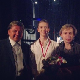 Vadim Pisarev, me , and Vladimir Malakhov