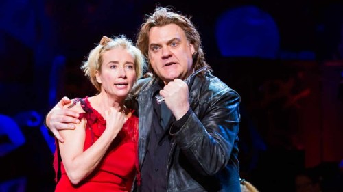 Emma Thompson and Bryn Terfel in Sweeney Todd - Photo by Chris Lee, 2014