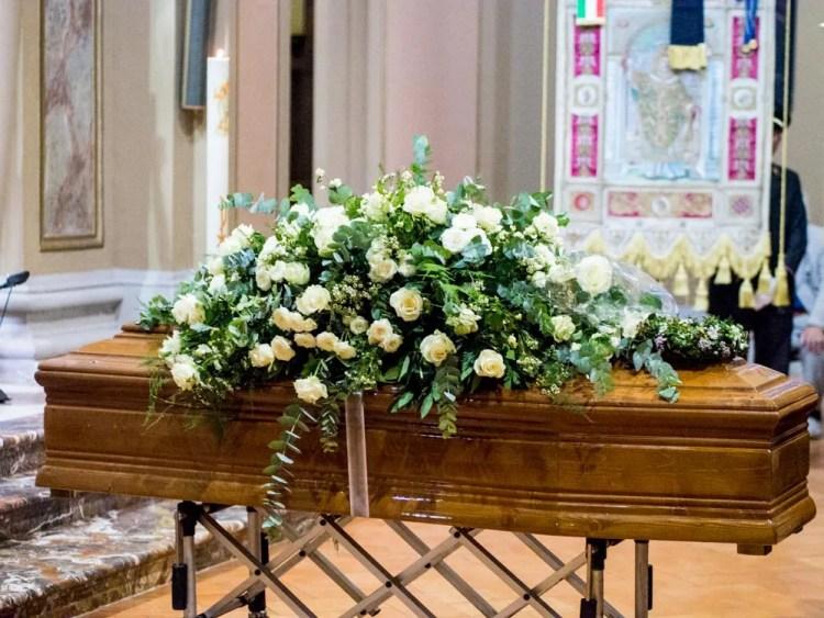 Magda Olivero's funeral, Milan 2014