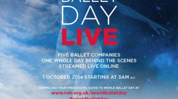 World Ballet Day 2017: 5 October Live with Australian, Bolshoi, Royal, Canadian and San Francisco Ballet Companies