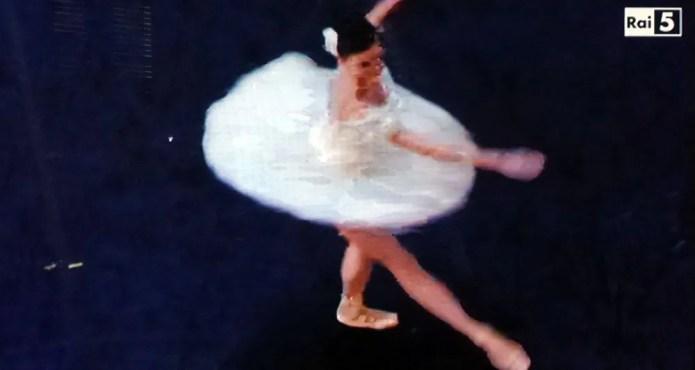 Natalia Osipova during her 32 fouettés
