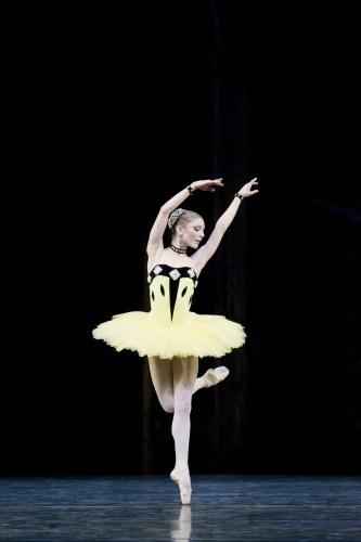 Sarah Lamb in Scenes de Ballet - photo Johan Persson, 2011