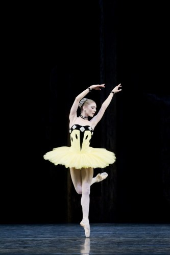 Sarah Lamb in Scenes de Ballet - photo Johan Persson, 2011