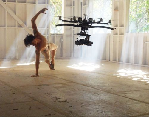 Sergei Polunin with a ACL Digital Cinema camera