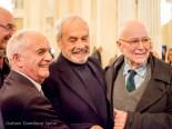 Ferruccio Saleri, Ezio Frigerio and Beppe Menegatti