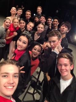Lausanne group selfie