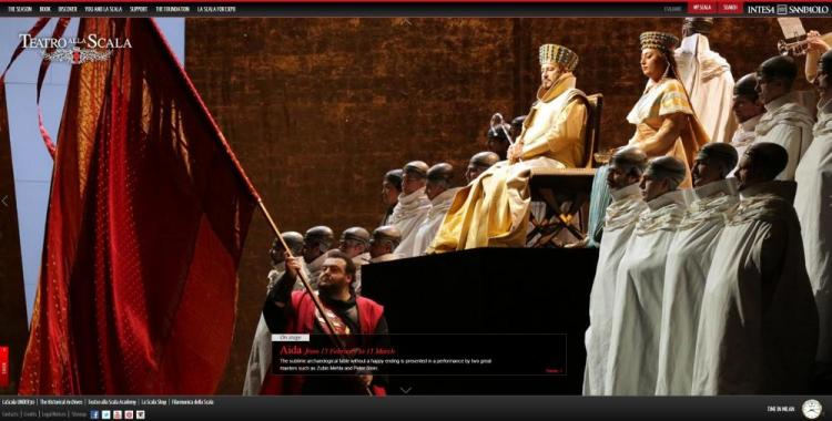 Teatro alla Scala website