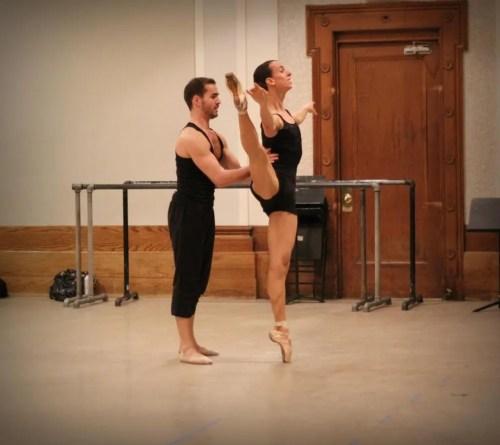 Alberto Pretto rehearsing
