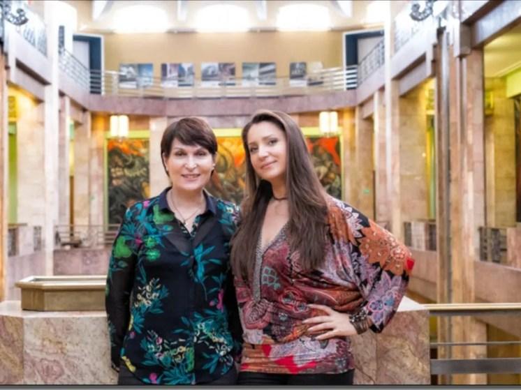 Barbara Frittoli with pianist Mzia Bakhtouridze
