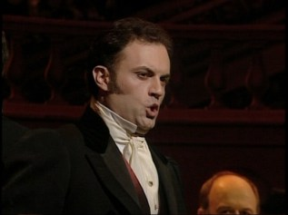 Frank Lopardo in the video of La Traviata with Angela Gheorghiu