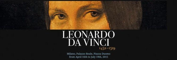 Leonardo da Vinci exhibition in Milan, Palazzo Reale
