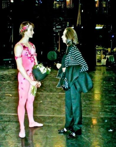 After a Gala with Vadim Muntagirov, London Coliseum 2013