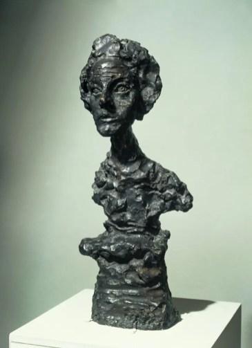 Annette IV by Alberto Giacometti, 1962 - copyright Alberto Giacometti Estate, 1962, ACS-DACS, 2015