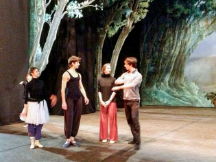 Being 'the little girl' coaching La Sylphide in Rome with Friedmann Vogel and Rome Opera dancers