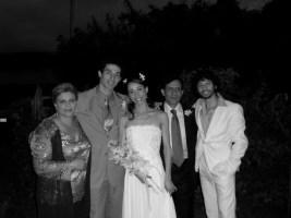 Erica Cornejo's Wedding in Colombia - Edit Schenone, Carlos Molina, Erica Cornejo, Ricardo Cornejo and Herman Cornejo