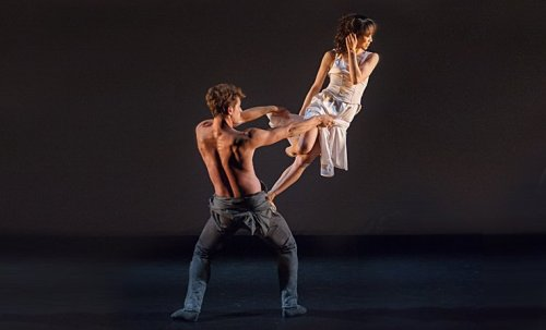 Erina Takahashi and James Forbat performing in Choreographics 2014 - photo © Photography by ASH