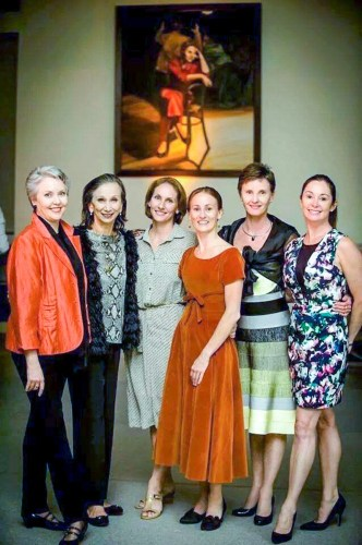Many generations of my Giselle in Australia - Christine Walsh, Rachel Rawlins, Madeleine Eastoe and Lisa Pavane