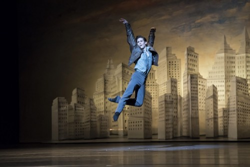Tristan Dyer in Liam Scarlett's The Age of Anxiety ©ROH - Bill Cooper 2014