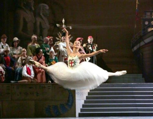 Nicoletta Manni as Civilisation- photo by Brescia and Amisano Teatro alla Scala