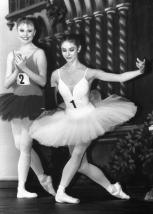 At the Genée International Ballet Competition in London, 1988