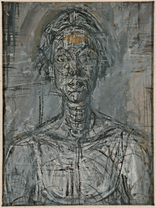 Bust of Annette by Alberto Giacometti, 1954 Private Collection - Copyright The Estate of Alberto Giacometti (Fondation Giacometti, Paris and ADAGP, Paris) 2015