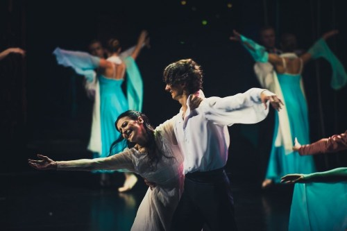 Carla Fracci and Dimitry Ekaterinin