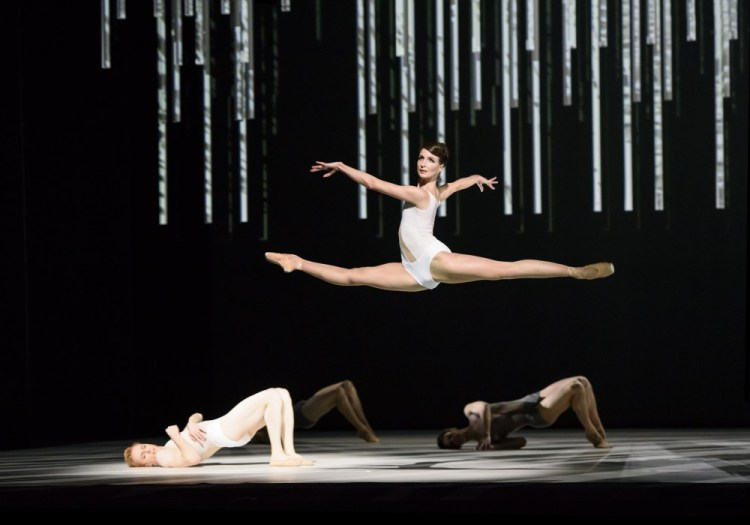 Connectome with Lauren Cuthbertson ©ROH, 2015. Photographed by Bill Cooper