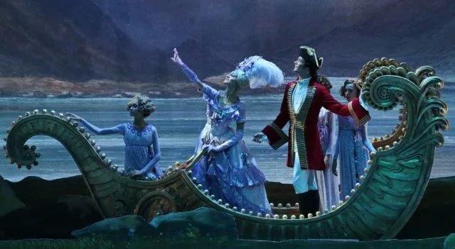 Jacopo Tissi and Nicoletta Manni in The Sleeping Beauty - photo by Brescia and Amisano, Teatro alla Scala 2015