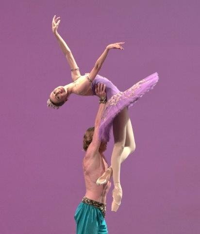 Le Corsaire with Svetlana Zakharova - photo Pierluigi Abbondanza
